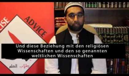 Ausgleich zwischen säkularem Wissen und dem Heiligen Wissen