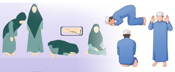 Unterschiede beim Gebet der Frau