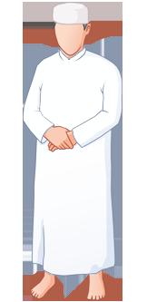 Gebetshaltung - Qiam